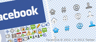 TwitterやFacebookのスプライト用画像