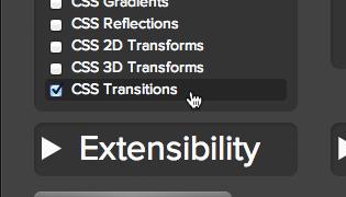 CSS Transitionにチェック